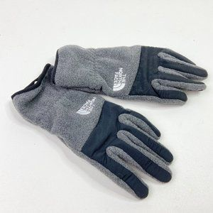 The North Face Men's Small Gray Black Gloves